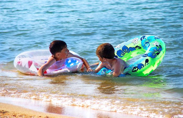 Отдых с детьми на Азовском море 2016